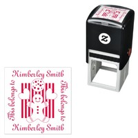 Kids School Book | Supply Personalized Girls Self-inking Stamp
