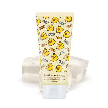 Rilakkuma X A'PIEU Limited Edition Jelly Brightening Cleansing Foam 4.4oz |轻松熊 Rilakkuma X A'PIEU 限量版 小鸡洗面奶 130ml