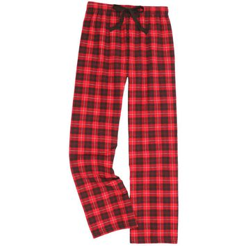 Boxercraft Red and Black Flannel Pant