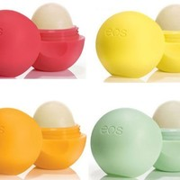 EOS Lip Balm 4 pack Set - Summer Fruit, Lemon Drop, Tangerine, Honeydew:Amazon:Beauty