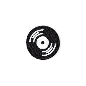 Vinyl Music Record Mini Sticker Patch