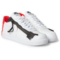 Nike - + Acronym Lunar Force 1 Leather Sneakers