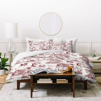 Belle13 Vintage Sunday Afternoon Duvet Cover