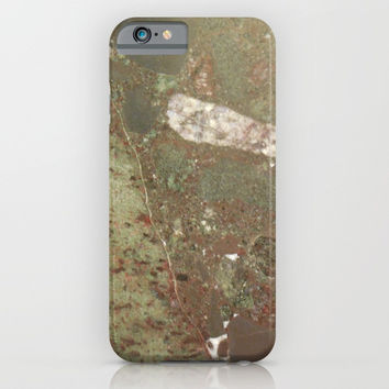 Green Granite iPhone & iPod Case by Stevestones