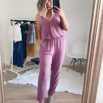 Raelynn Sleeveless Jumpsuit