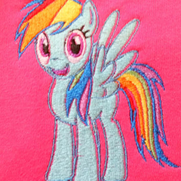 my little pony rainbow dash shirt.