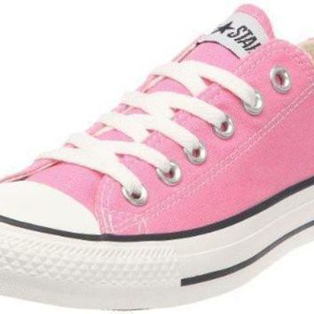 DCCK1IN converse chuck taylor all star ox fashion sneaker slip on shoe pink girls 9