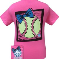 Preppy Softball Tee