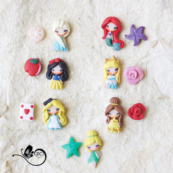 disney  princess / disney / princess collection / post earrings