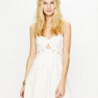 Free People FP New Romantics Olympic Corset Flame Dress at Free People Clothing Boutique
