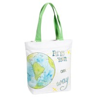 Inspirational Tote, Find Your Own Way Graphic