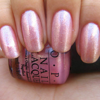 New! OPI -- PRINCESSES RULE! -- SHIMMERING Full Size Nail Polish!  R44