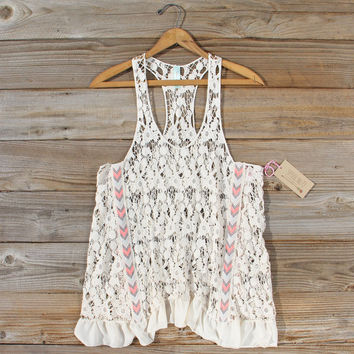 Morning Moon Lace Tank