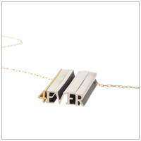 Five Letter Hidden Message Necklace