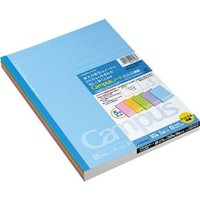 "1 X Kokuyo Campus Todai Series Pre-Dotted Notebook - Semi B5 (7"" X 9.8"") - 6 mm - 35 Lines X 30 Sheets - Pack of 5 Cover Colors"