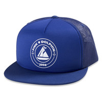 08 Seal Trucker in Blue –Pink+Dolphin