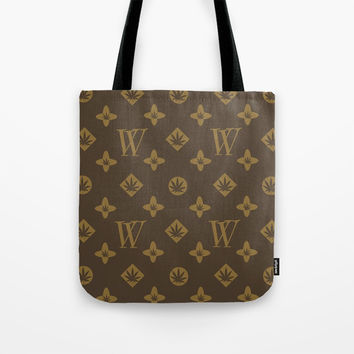 Weed Couture Tote Bag by Cr8tv Designs