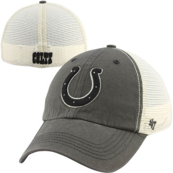 47 Brand Indianapolis Colts Caprock Canyon Flex Hat - Natural/Charcoal