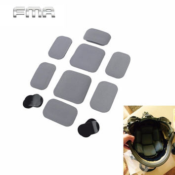 1 pc FMA Airsoft Tactical Shooting Helmet Pad Tool Military Army Combat Soft Cushion Helmet Pad Gear Hunting Accessories*