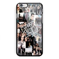 New Collage Why Dont We For iPhone 6 6s 7 8 X Plus Print On Hard Case
