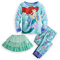 Ariel Deluxe PJ Pal and Tutu Set for Girls