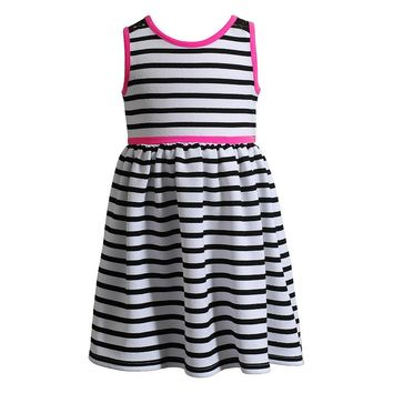 Youngland Stripe Dress - Girls