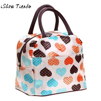 Portable insulated Picnic Lunch Bag Tote Zipper