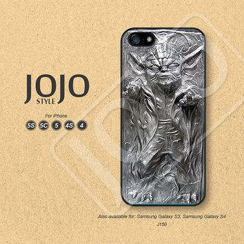 Star Wars iPhone 5 Case, iPhone 5c Case, iPhone 4 Case, iPhone 5s Case, iPhone 4s Case Yoda Phone Cases, Phone Covers - J150