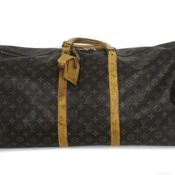 Louis Vuitton Unisex Monogram Duffel Bag