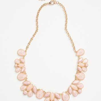 Eloise Pink Statement Necklace