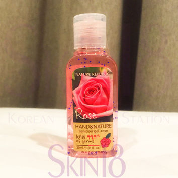 Nature Republic hand and nature hand sanitizer - Rose  *exp.date 06.18*