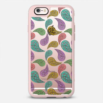 Paisley Party - Transparent iPhone 6s case by Alice Gosling | Casetify