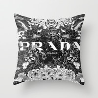 Clouded P-Town Throw Pillow by LuxuryLivingNYC