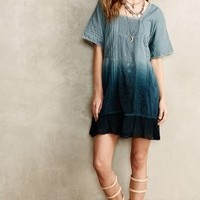 Ocean Dipped Tunic Dress by Holding Horses Blue Motif