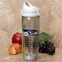 Seattle Seahawks Tervis Tumbler Logo Wrap 24oz. Travel Water Bottle