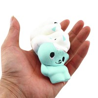 Squishy Ice Cream Doll Bread Phone Straps Slow Rising Bun Charms Gifts Toys Dropship Y724