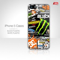 Ken Block DC Shoes Monster Rally Team GYMKHANA Hoonigan Iphone Case 5