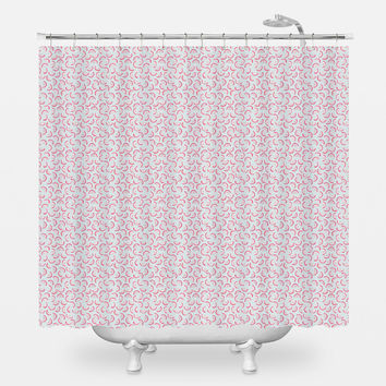Dragon Fruit II Shower Curtain