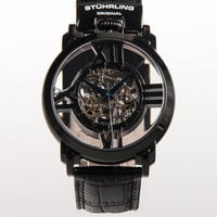 Winchester Cross Automatic Skeleton Watch
