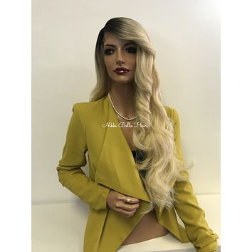 Blond ombre lace front wig - Dream Life