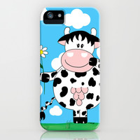 Cow Daisy iPhone & iPod Case by Dettagli by Roberta ,Italy