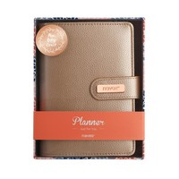 Leather Cover Daily Planner Organizer