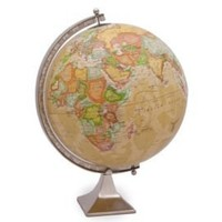 One Kings Lane - Urban Explorer - Desk Globe, Medium