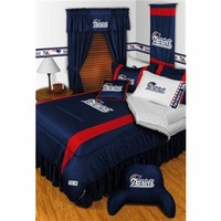 New England Patriots Sidelines Comforter 5286 - Polyester
