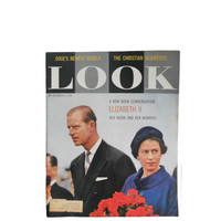 "Vintage Look Magazine Queen Elizabeth II December 9, 1958 - ""A New Book Condensation Her Work and Her Worries"" Vol. 22 No. 25"