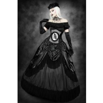 Queen of the Night Skirt with Petticoat