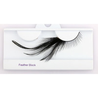 Black Feather Eyelash