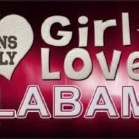 This Girl Loves Alabama License Plate Tag