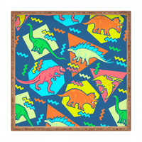 Chobopop 90s Dinosaur Pattern Square Tray