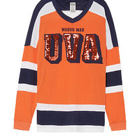 University Of Virginia Bling V-neck Varsity Crew - Victoria's Secret